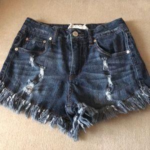 Altar'd State fringe shorts